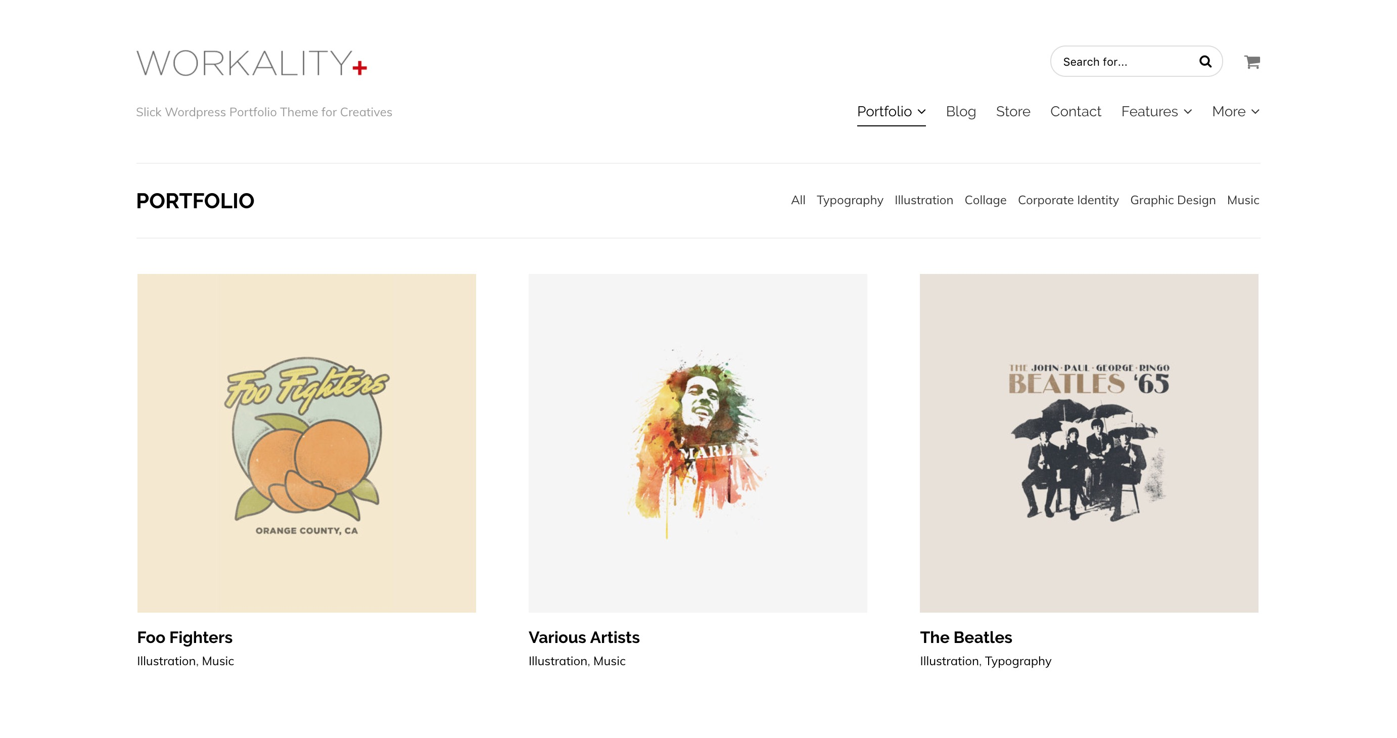 Workality Plus Woocommerce & Portfolio Theme for Creatives