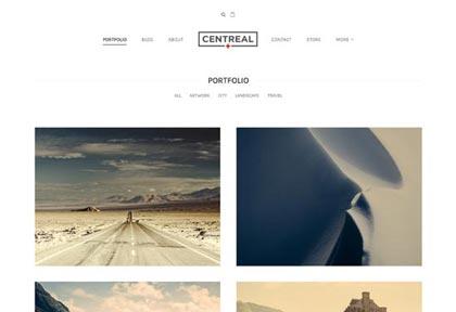 Portfolio - 2 Cols Landscape