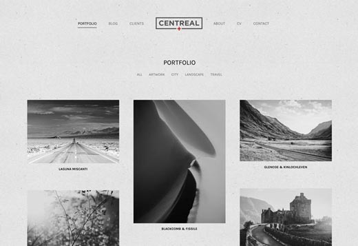 Centreal Plus Demo : Portfolio
