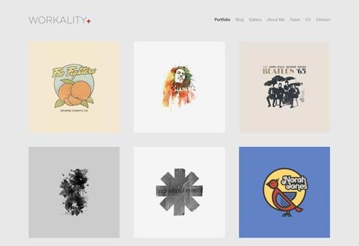 Workality Plus Demo : Portfolio
