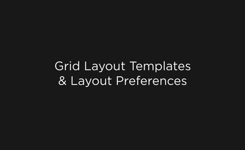 Grid Layout Templates