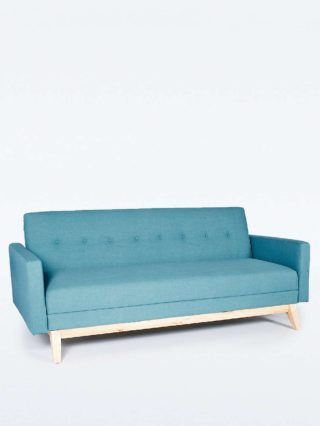Sofia Mitte Sofa Bed in Powder Blue