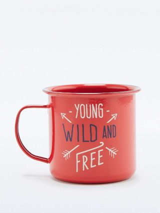 Wild & Wolf Young Wild & Free Mug