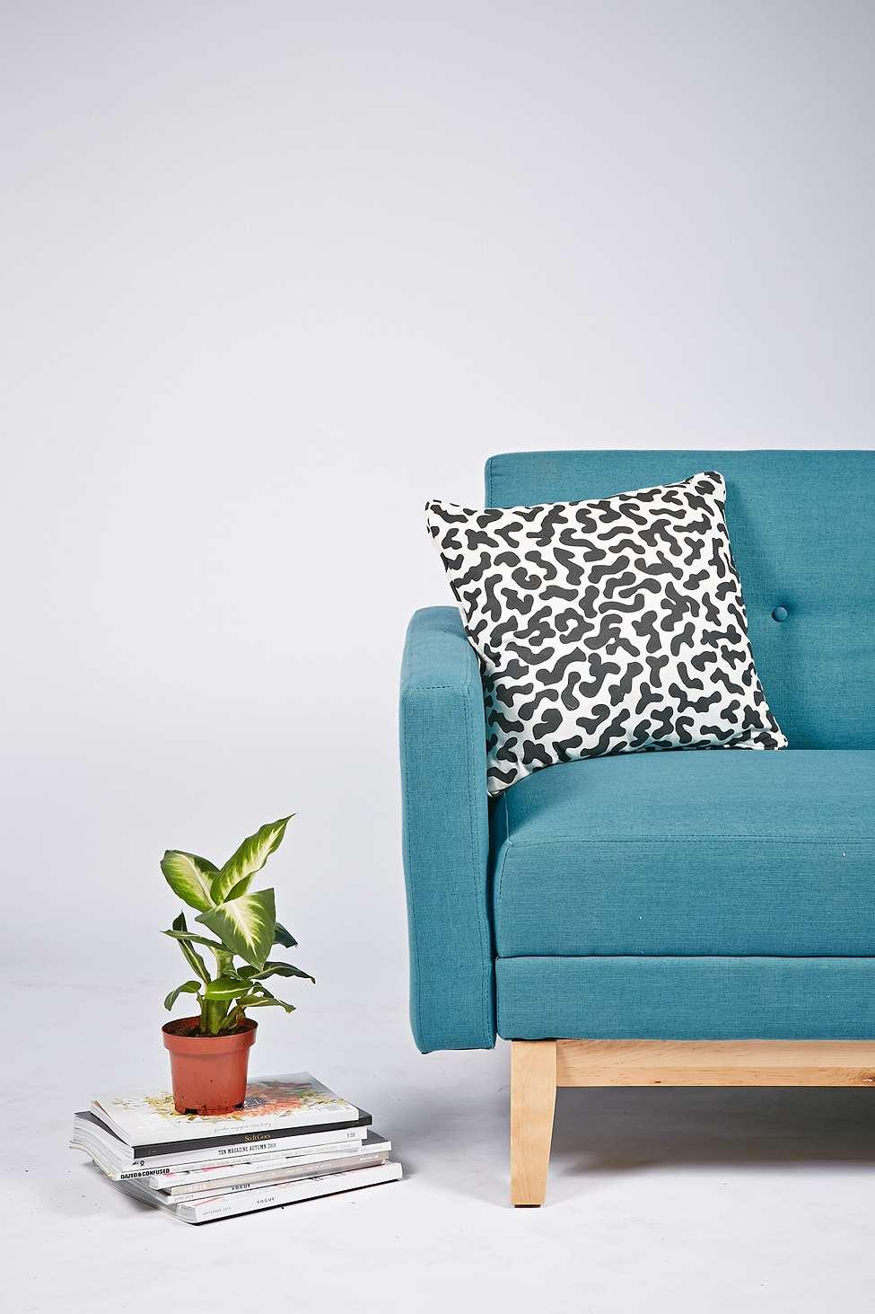 Sofia Mitte Sofa Bed In Powder Blue