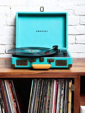 Portable Vinyl Record Player