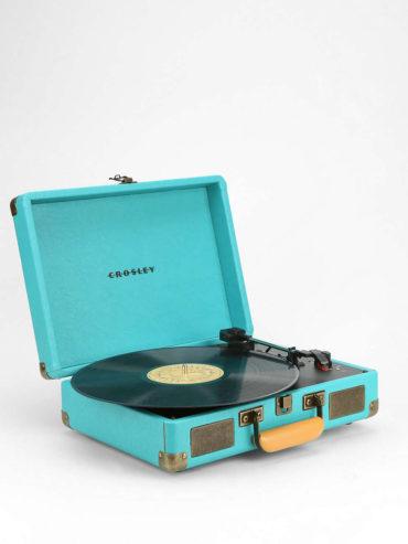 Portable Vinyl Record Player